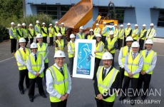© Pic by Guy Newman. Cavanna Homes staff group picture 2011